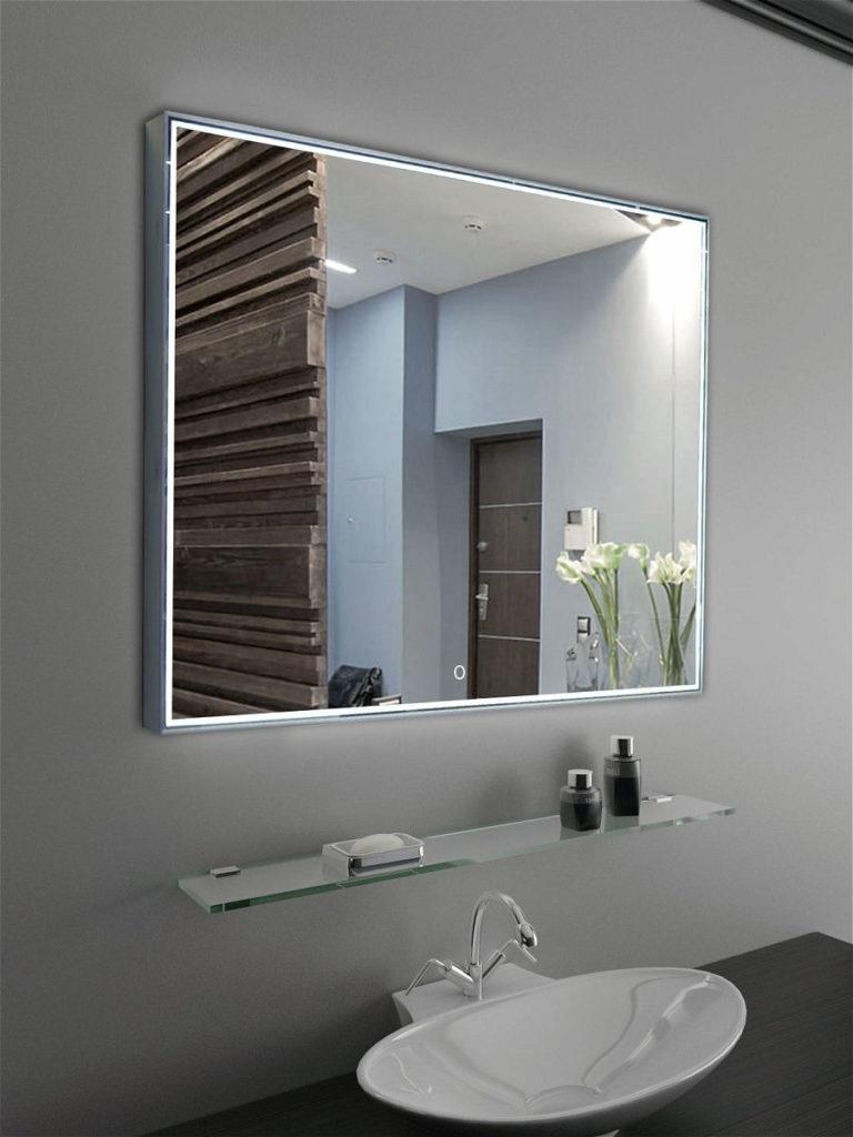 Настенные зеркала большого размера в интерьере 3