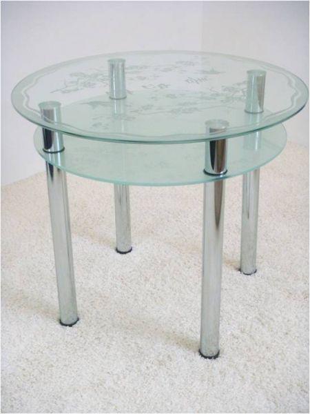 Крепеж для стеклянных столов 3