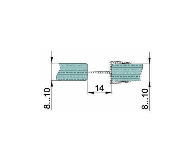 Крепеж для душевых кабин 163