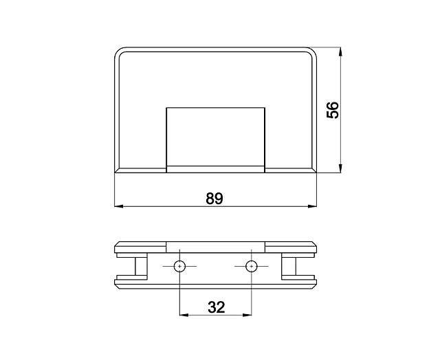 Крепеж для душевых кабин 33