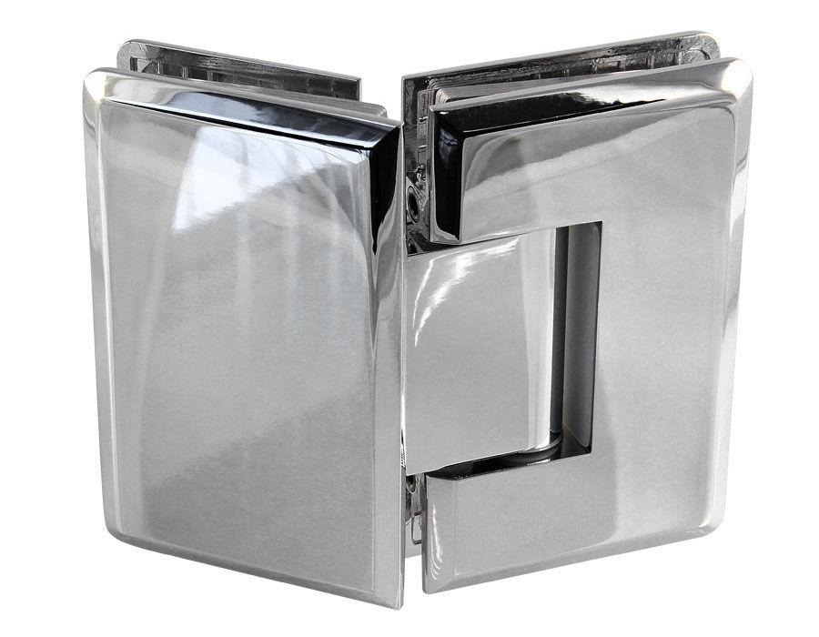 Крепеж для стеклянных дверей 15