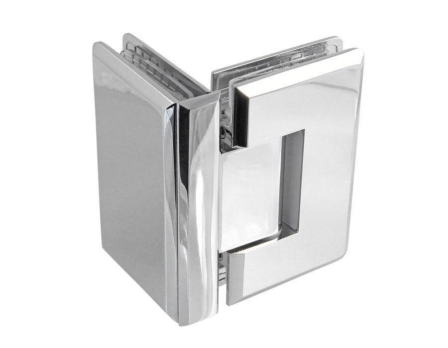Крепеж для стеклянных дверей 27