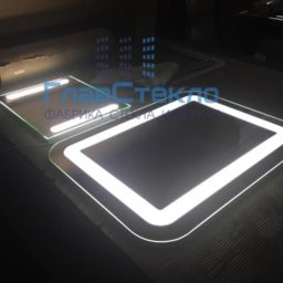 Изготовление зеркал с подсветкой 11
