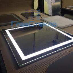 Изготовление зеркал с подсветкой 5