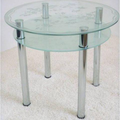 Крепеж для стеклянных столов