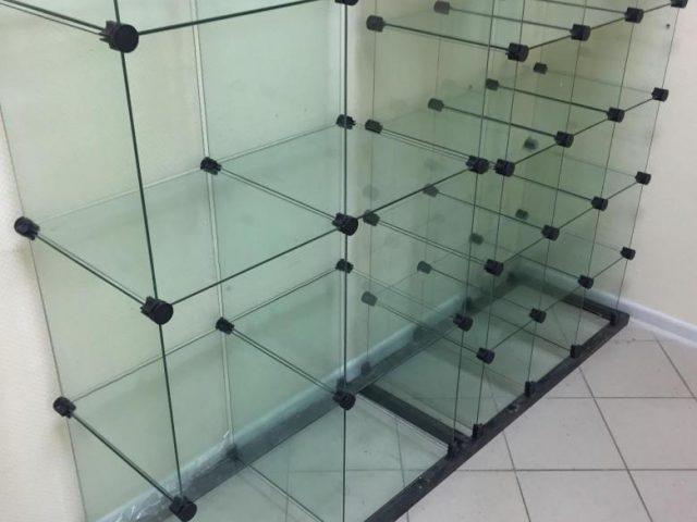 Витрины из стекла